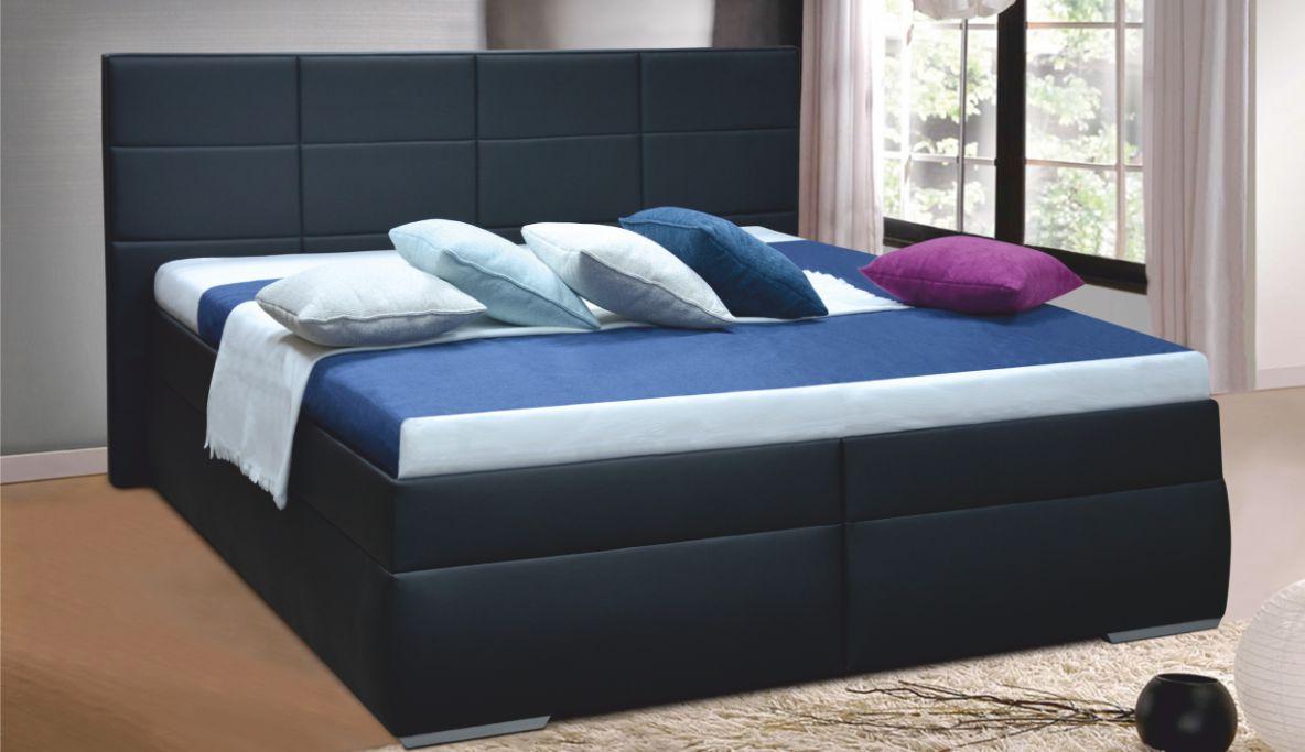 f3fac7f08963 Moderní manželská postel FREDERIKA 2 180 cm vč. roštu a ÚP
