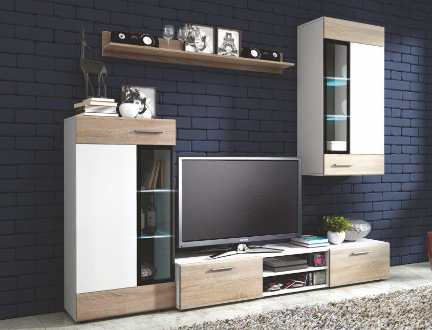 "Obývací stěna TANGO  <span class=""discount""><span style=""color: red;""> SLEVA 33%</span></span>"