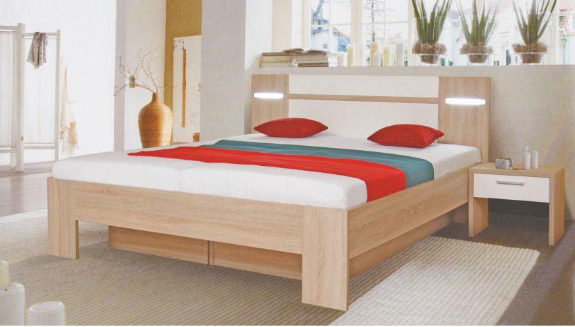 c9e54065b0c0 Manželská postel ADÉLA 180x200 cm s roštem
