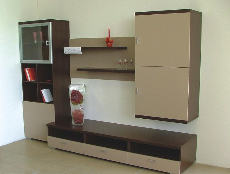 "Obývací stěna COSMO  <span class=""discount""><span style=""color: red;""> SLEVA 33%</span></span>"