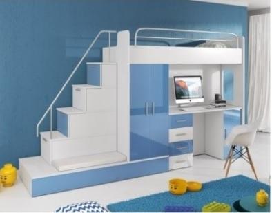 Kasvo RAJ 5 dětská postel