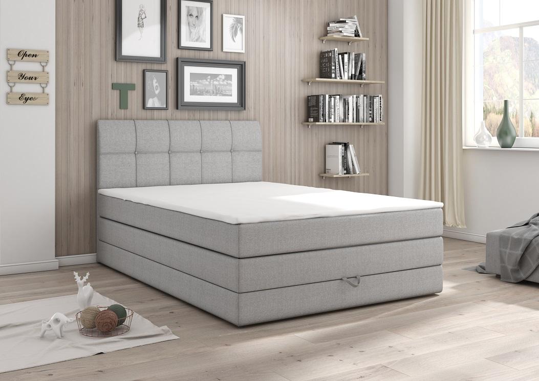 Kasvo Čalouněná postel CARACAS 120x200 cm