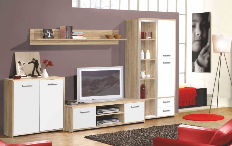 "Obývací stěna PALERMO  <span class=""discount""><span style=""color: red;""> SLEVA 40%</span></span>"