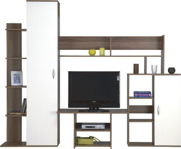 "Obývací stěna APOLO  <span class=""discount""><span style=""color: red;""> SLEVA 40%</span></span>"