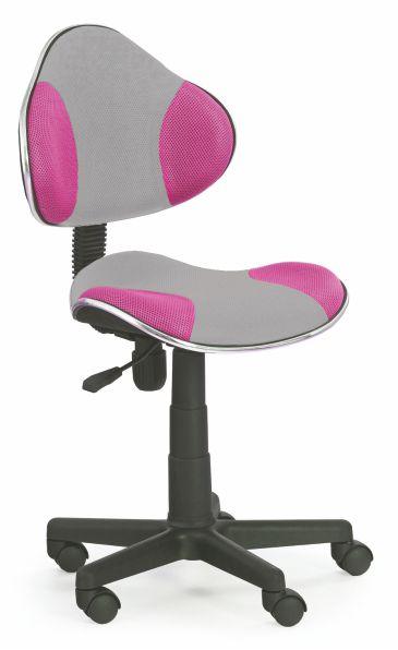 Kasvo FLASH 2 židle šedá / růžová