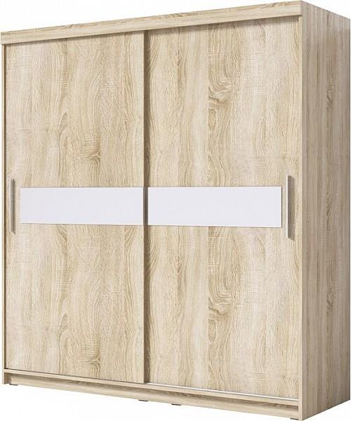 Šatní skříň PORTO 180x200 bílá