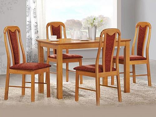 Jídelní židle JANA olše světlá