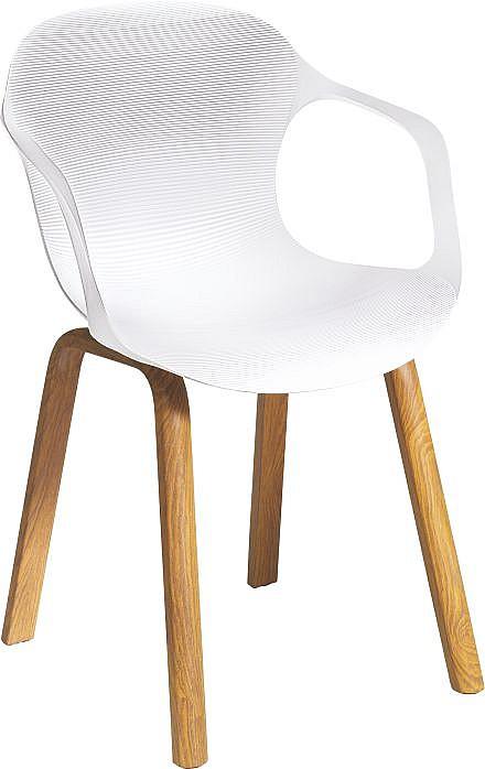 Jídelní židle CARPI  bílá