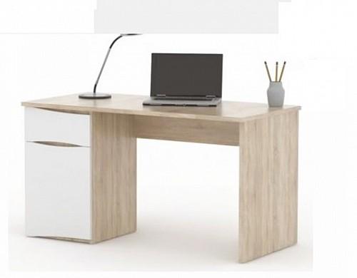 Počítačový stůl OC PC dub světlá sonoma/bílá