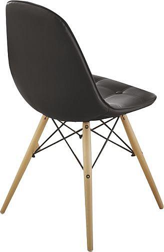 Jídelní židle JUIST  černá