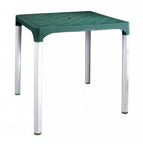 Zahradní plastový stůl VIVA  Tmavě zelená