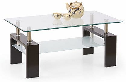 Konferenční stůl DIANA INTRO  Wenge/sklo