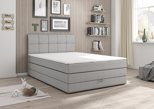 Čalouněná postel CARACAS 120x200 cm inari 91