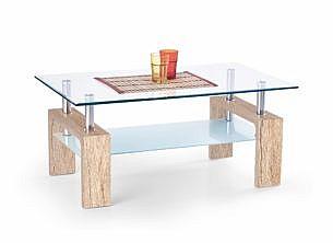 Konferenční stůl DIANA INTRO  Wenge/ sklo