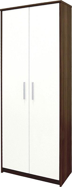 Skříň JH 05  dub sonoma / bílé dveře