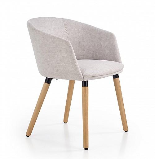 K266 židle jídelní sv.šedá