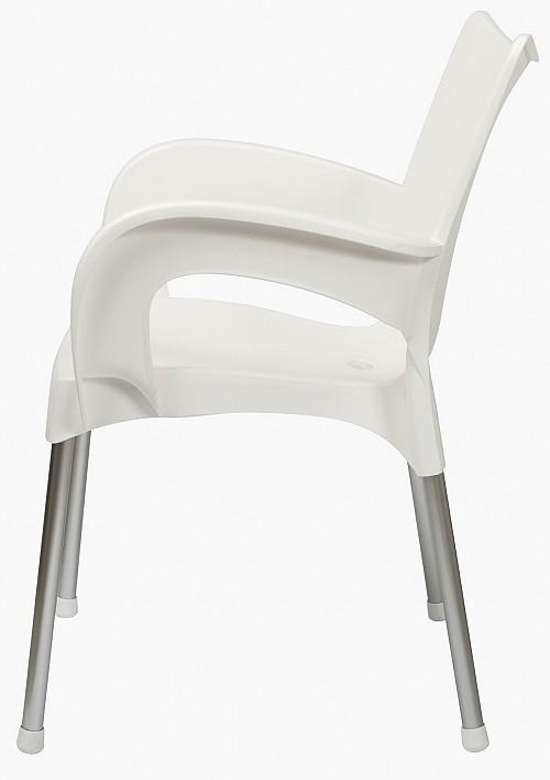Židle DOLCE AL/PP plastová Bílá