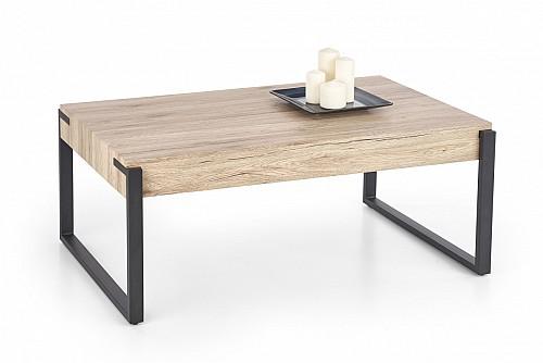 CAPRI konf. stůl černo/bílá