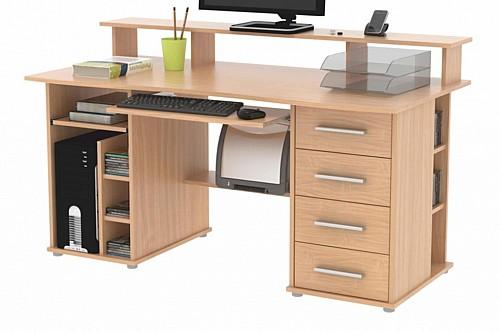 PC stůl FRANZ  buk