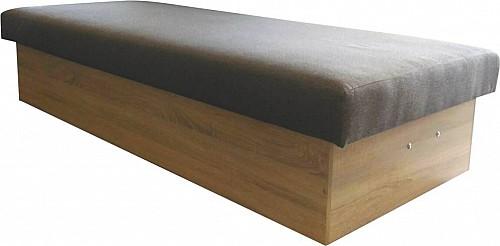 Válenda ZDENKA (F) 82 cm Dub sonoma /látka Ontario šedá