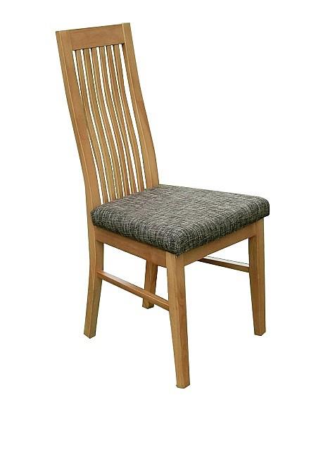 Jídelní židle LAURA ořech / látka BZ4