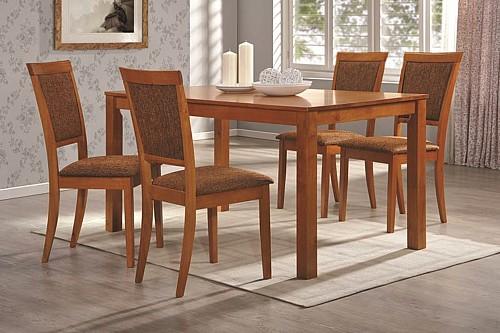 Jídelní stůl ERIK + židle GITA 1+4 Třešeň