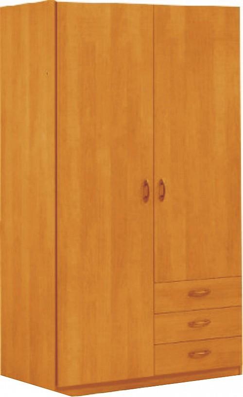 Šatní skříň NEPTUN 2 dveřová dub Sonoma