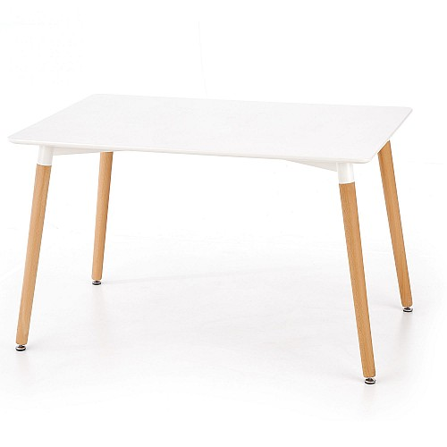 SOKRATES jídelní stůl bílá