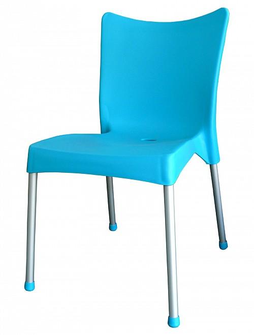 Zahradní plastová židle VITA AL/PP Tyrkysová