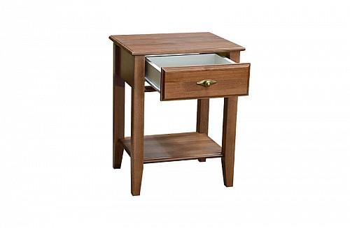 Noční stolek PANAMA  dub lakovaný