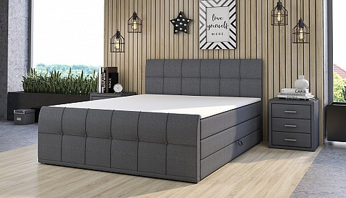 Čalouněná postel CARACAS 120x200 cm inari 96