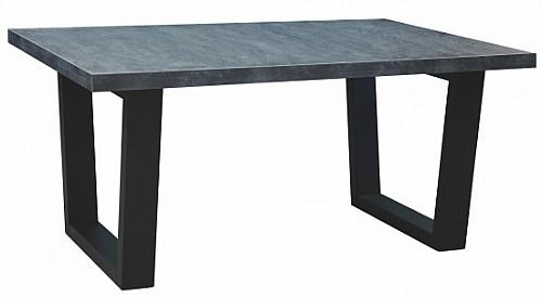 Konferenční stůl SANTOS černé nohy / odstín mramor uhelný