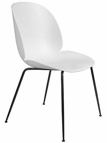 Jídelní židle SHELLO SF-606   bílá/metal