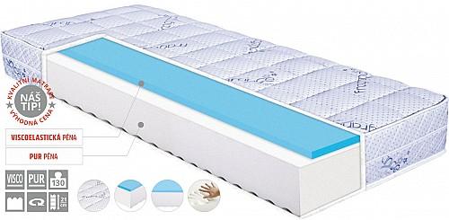 Matrace LEVANDER MEMORY výška 20 cm 85x195x20 cm