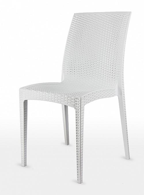 Moderní zahradní židle DALIA Bílá