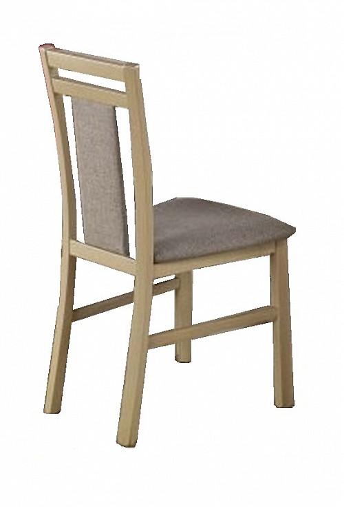Jídelní židle HUBERT 8 MDF dub Sonoma / šedá