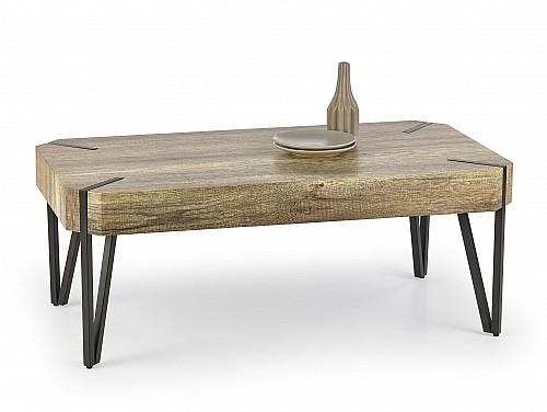 Konferenční stůl EMILY dub divoký (dziki) / černé nožky