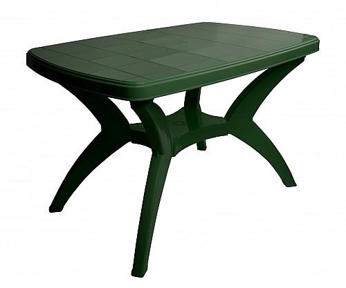 Velký zahradní stů CENTO PP 73x70x120 tm.zelená