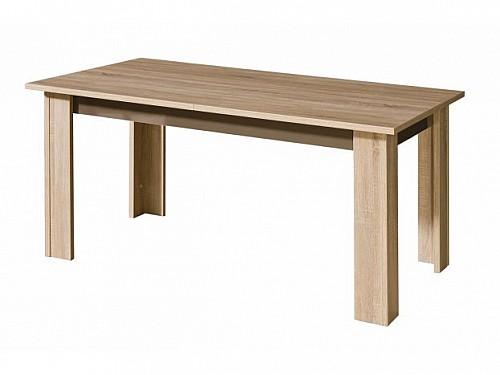 Jídelní stůl IDAHO  strukturovaný ořech / wenge vrásněné