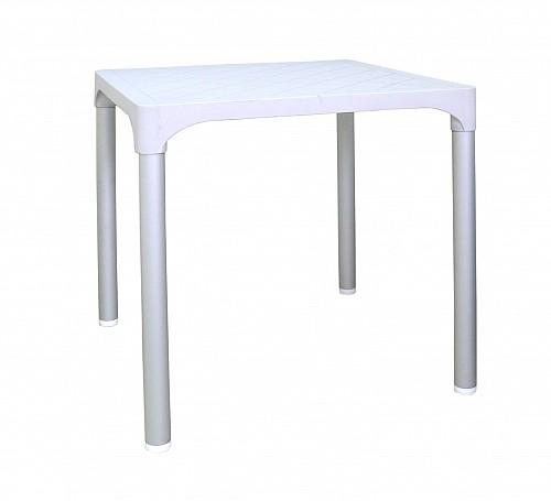 Zahradní plastový stůl VIVA  Bílá