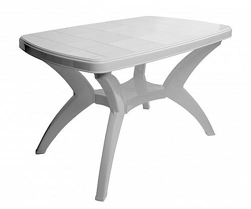 Zahradní stůl CENTO PP 73x70x120 bílá