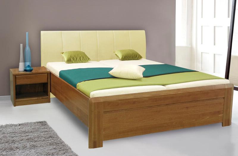 c582c85f5b2b Masivní manželská postel s úložným prostorem ANTON 2