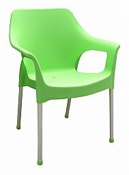Plastová zahradní židle URBAN AL/PP Zelená