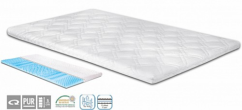 TOPPER TOP MATRESS 9 ZÓN výška 5 cm (š.140 cm)