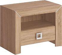 Noční stolek HAVANA H18  dub sonoma