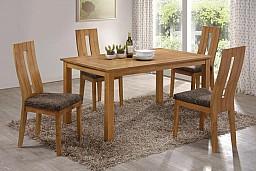 Jídelní stůl EDA + Jídelní židle NELA buk