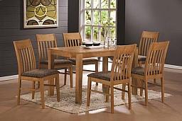 Jídelní stůl VAŠEK + židle VIOLA 1+4 Buk